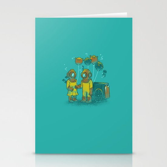 the BalloonFish Vendor Stationery Cards