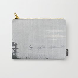 Misty Morning on the Clarence (1994) Carry-All Pouch