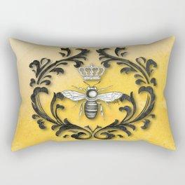 Damask Bee Rectangular Pillow