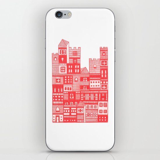 Tangerine Castle iPhone & iPod Skin