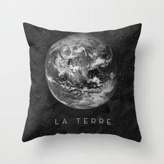 La Terre Throw Pillow