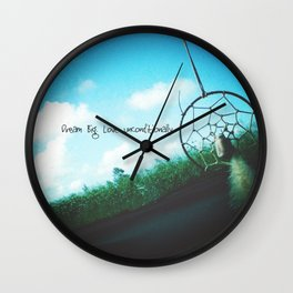Catching Dreams Wall Clock