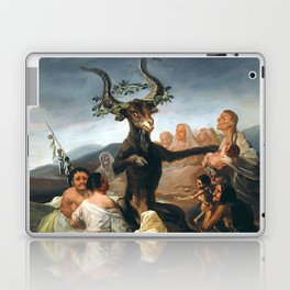 THE SABBATH OF THE WITCHES - GOYA Laptop & iPad Skin
