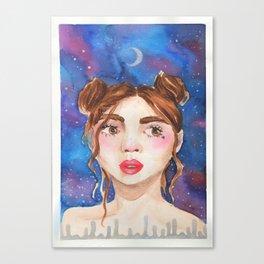 'Crescent' Canvas Print