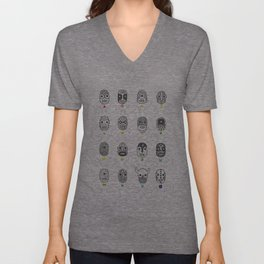 (The Ghosts of our) Forefathers Unisex V-Neck