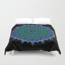 Tara's Tribal Turtle Mandala Duvet Cover