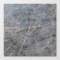 wood Canvas Prints featuring wood by Artemio Studio
