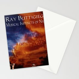 RAY BUTTIGIEG ~ THE MUSICAL INSTINCTS OF NATURE Stationery Cards