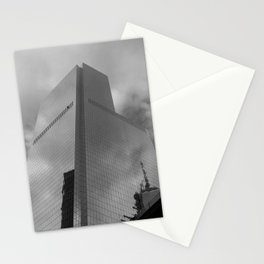 New York in grey Stationery Cards