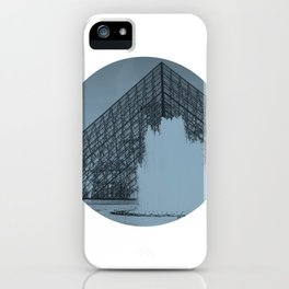 Louvre Fountain iPhone Case