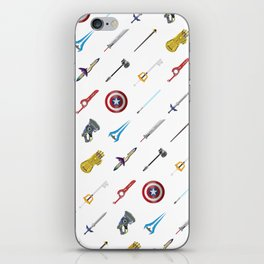 Fantasy Weapons Pattern iPhone Skin