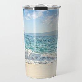 Oneloa Big Beach Makena Maui Hawaii Travel Mug