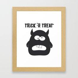 Monster Trick 'r Treat Framed Art Print
