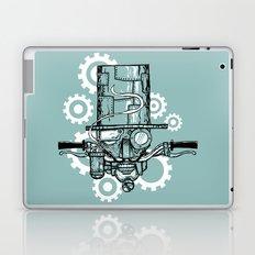 Robot Handlebar Mustache  Laptop & iPad Skin