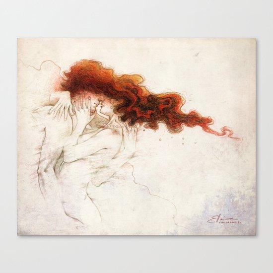Fire&Gasoline Canvas Print