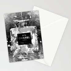 No 5 Black and White Stationery Cards