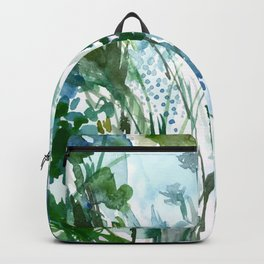 marelle: watercolor floral Backpack