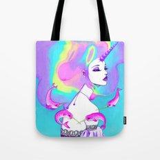 Lady Amalthea Tote Bag