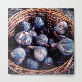 Figs in a Basket Metal Print