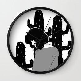Thorn apart Wall Clock