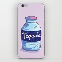 tequila iPhone & iPod Skins featuring Tequila by - OP -