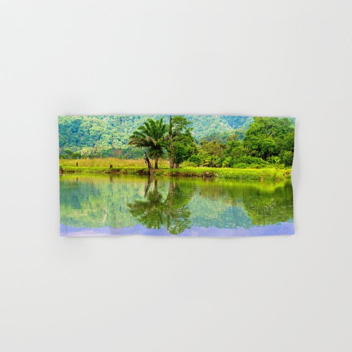 RIVER MIRROR Hand & Bath Towel