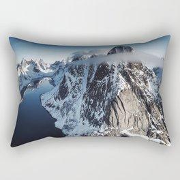 Lofoten landscape  Rectangular Pillow