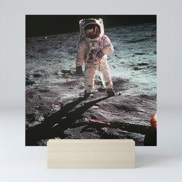 Moon landing 4 Mini Art Print