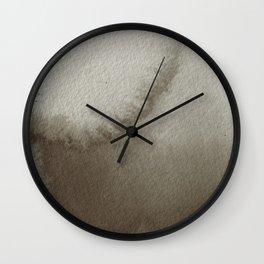 Desaturated Sunrise Wall Clock
