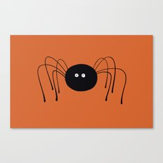 Lonely Spider Canvas Print