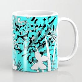Turquoise tropical Coffee Mug