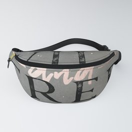 Wild and Free Rose Gold Fanny Pack