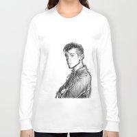 alex turner Long Sleeve T-shirts featuring alex turner [2] by roanne Q
