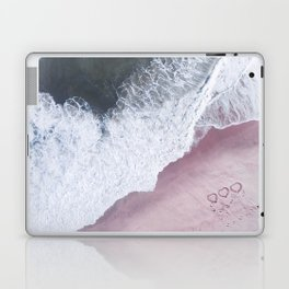 I love the sea - heart and soul Laptop & iPad Skin