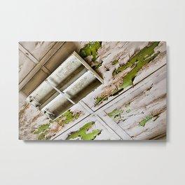 A Peeling Ceiling Metal Print