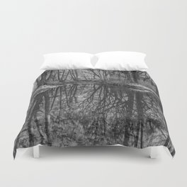 Reflections in the Brook Duvet Cover