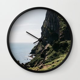 Seongsan Ilchulbong: Jeju Island, Korea Wall Clock