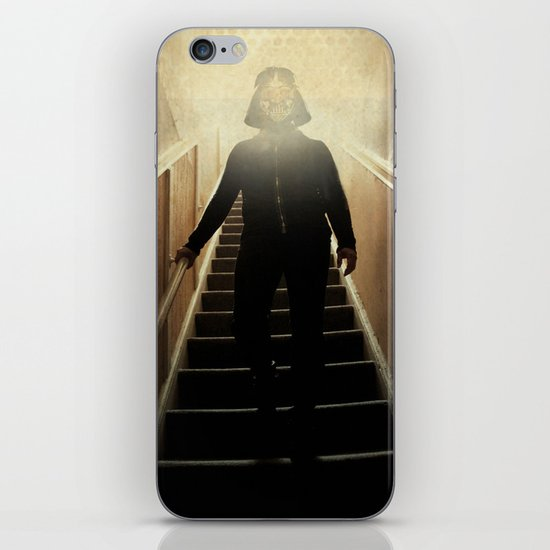 Stairway to the dark side _ vader descending  iPhone & iPod Skin