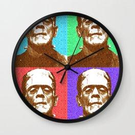 Scrabble Frankenstein's Monster x 4 Wall Clock