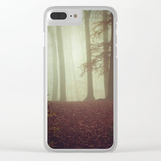 November Light Clear iPhone Case