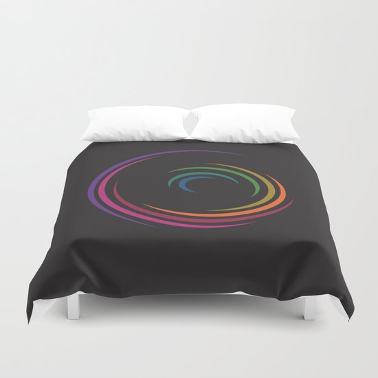 Spinning Duvet Cover