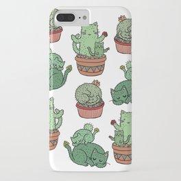 Cactus Cats iPhone Case