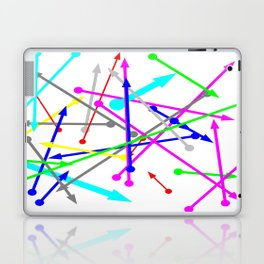 wohin soll es gehen - the right direction   (A7 B0025) Laptop & iPad Skin