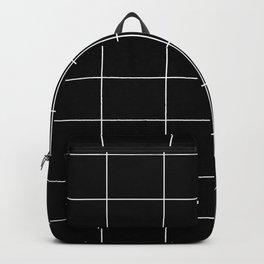 Black squares Backpack