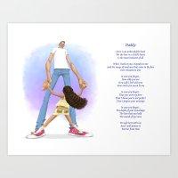 Daddy Art Print