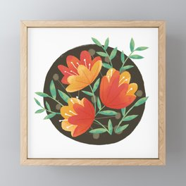 Afternoon Blossoms Framed Mini Art Print