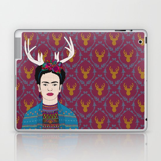 DEER FRIDA Laptop & iPad Skin