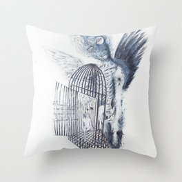 Malady of revery Throw Pillow