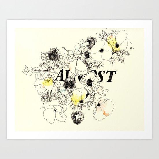 Almost Art Print