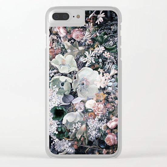 Bohemian Botanic Overdose Clear iPhone Case